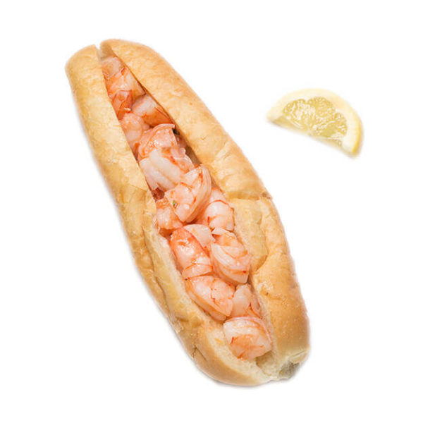 Maine Shrimp Roll
