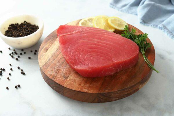 Fresh Sushi grade Tuna Steaks