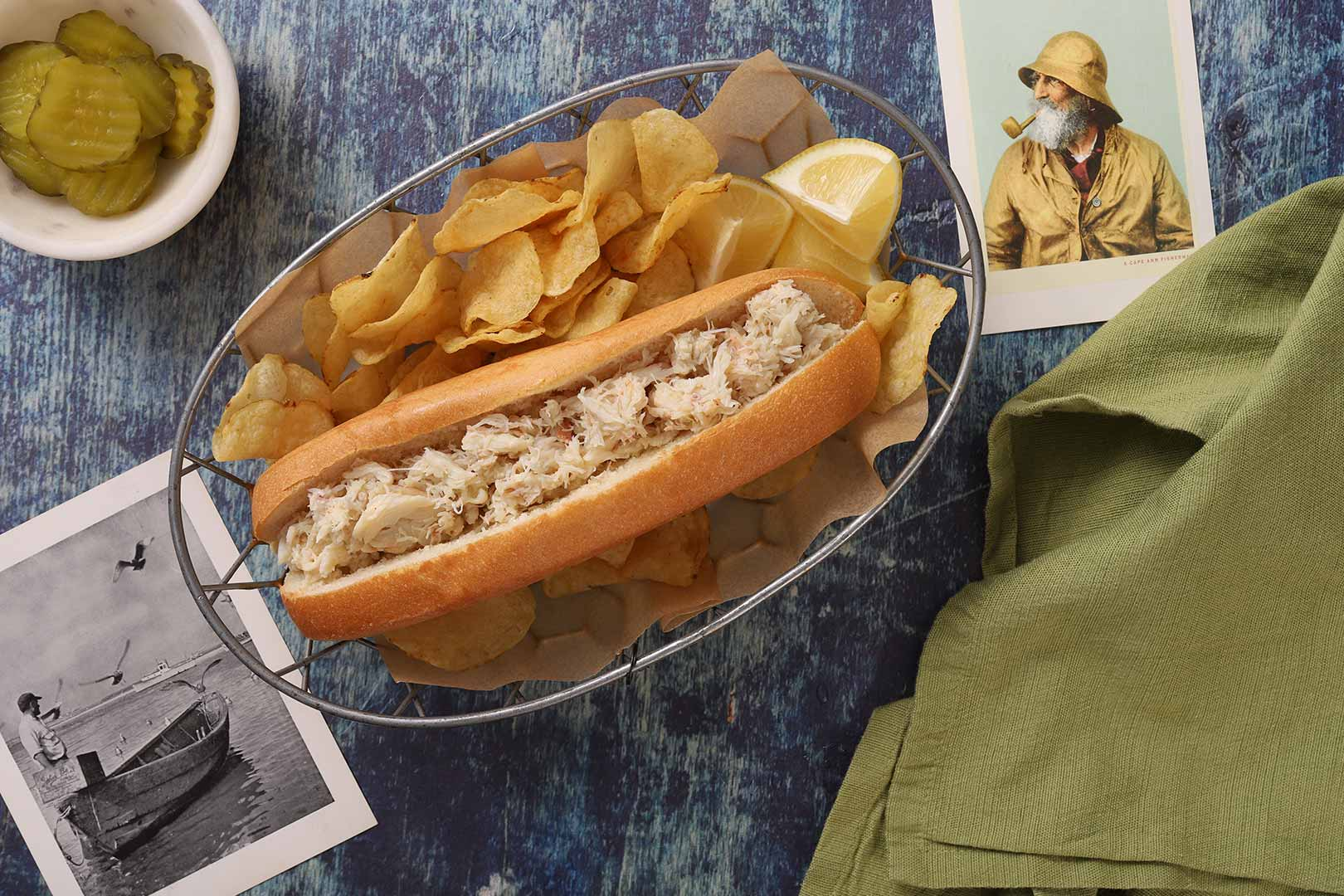 Fresh Crab Meat Roll