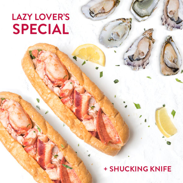 Lazy Lover's Special with Oysters