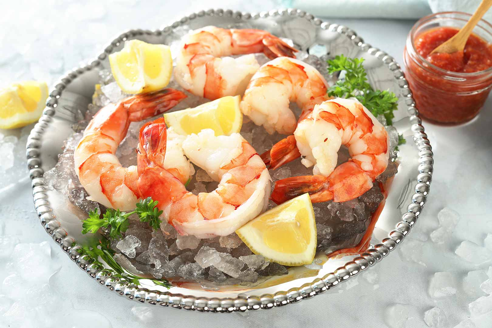 Cooked Colossal Shrimp