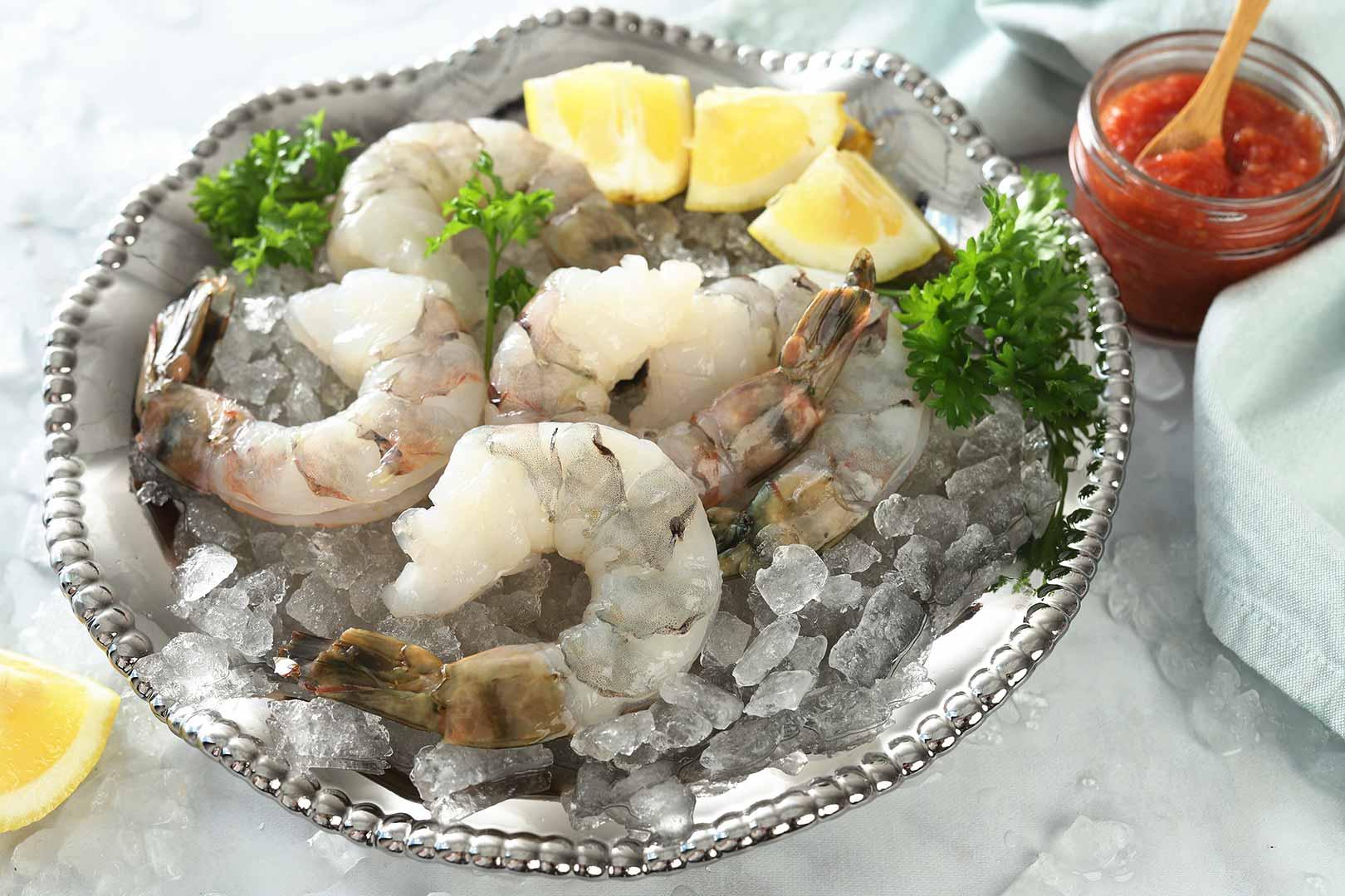 Raw Colossal Shrimp